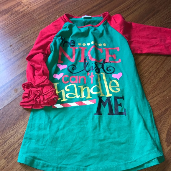 boutique christmas shirt